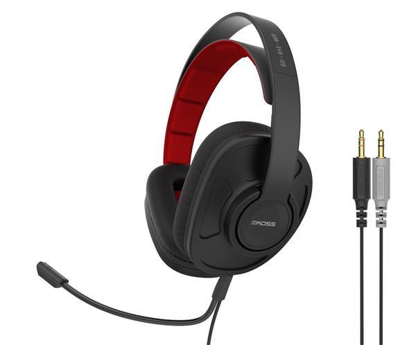 KOSS GMR-540 ISO herne sluchatka s mikrofonom