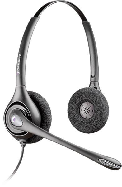 Plantronics SupraPlus HW261N/A náhlavná súprava na obe uši