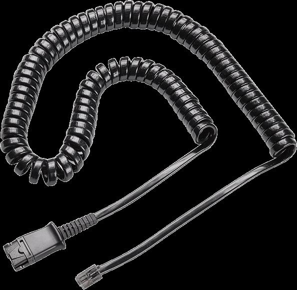 Plantronics kábel na pripojenie náhlavných súprav k telefónom CISCO a prepínačov M (U10)