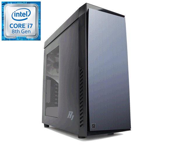 Prestigio Xtreme i7-8700K (3,7G) GTX1080Ti 16GB DDR4 2TB+250GB SSD DVDRW HDMI DP USB3 bez OS
