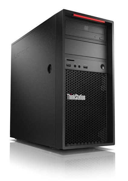 Lenovo TS P520c TWR W-2123 3.6GHz UMA 16GB 256GB DVD W10Pro cierny 3y OS