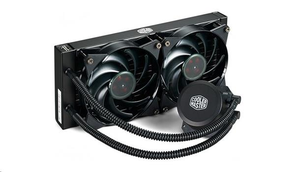 CoolerMaste vodný chladič CPU MasterLiquid Lite 240, 120mm PWM fan, soc. 1151/1150/1156/1136/2011/2066/AM4/AM3/FM2