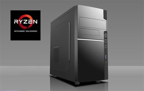 Prestigio Advanced Ryzen 3 2200 (3,7G) Vega 8 8GB 1TB DVDRW HDMI W10 64bit
