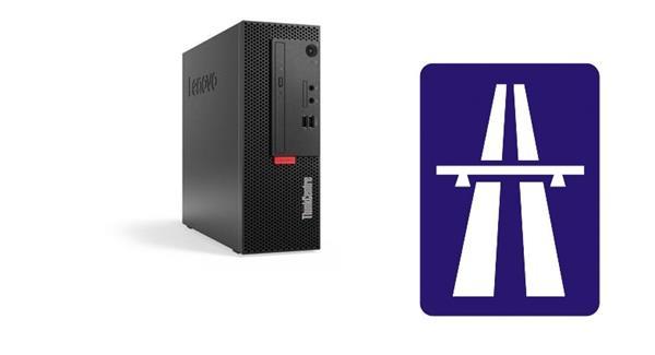 Lenovo TC M710e SFF i3-7100 3.9GHz UMA 4GB 128GB SSD DVD W10Pro cierny 3yOS