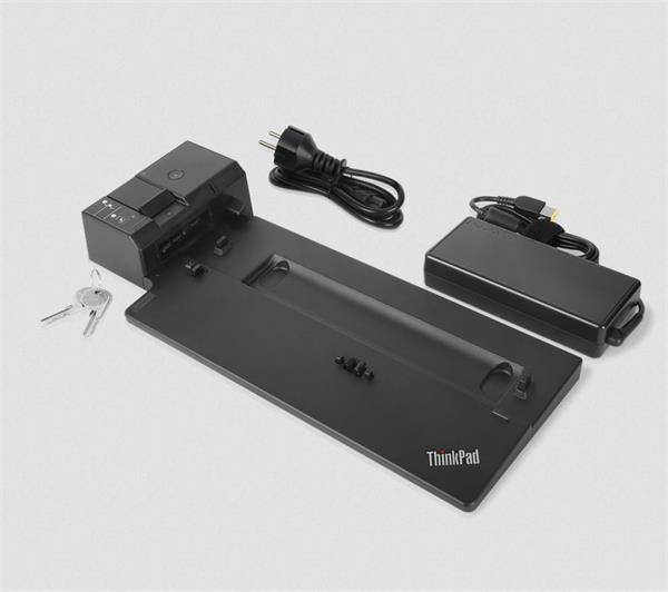 Lenovo ThinkPad Ultra Side Dock-135W (VGA, 2x DisplayPort, HDMI, RJ45, 2xUSB-C, 4xUSB 3.1, adapter) pripojit max. 3x LCD