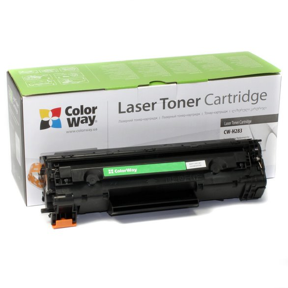 ColorWay alternativny toner k HP CF283X (83X) a Canon 737H