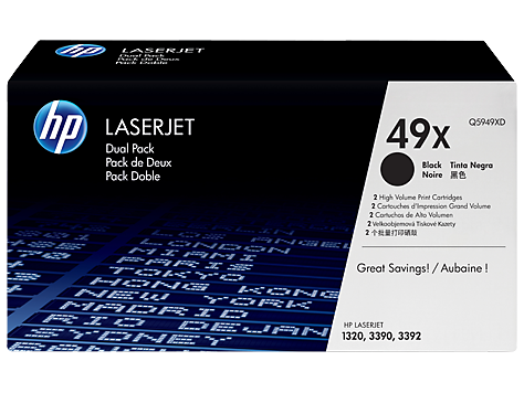 HP Toner Cartridge for HP LaserJet 1320 (appx. 6000 p. each) 2-Pack
