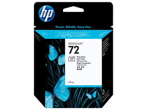 HP 72 Photo Black Ink Cart/Viv.Ink 69ml