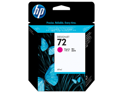 HP No72 Ink Cart/magenta 69ml