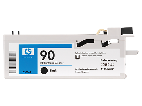 HP No 90 Printhead/cleaner black