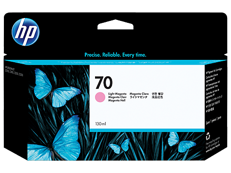 HP No 70 Ink Cart/130 ml Light Magenta w