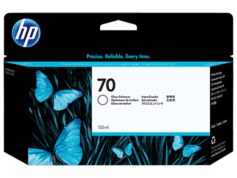 HP No 70 Ink Cart/130 ml Gloss Enhancer