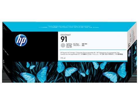 HP 91 Light Grey Ink Cart/Vivera Ink