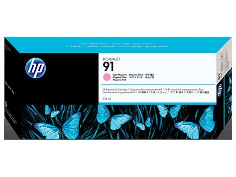 HP 91 Light Magenta Ink Cart/Vivera Ink