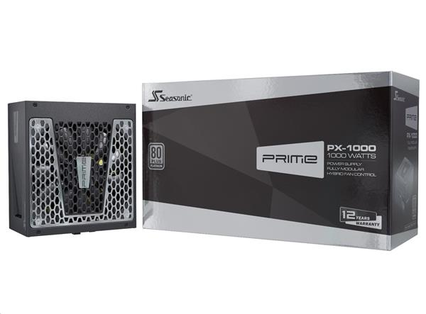 Zdroj 1000W, Seasonic PRIME ULTRA 1000 Platinum (SSR-1000PD) 80PLUS Platinum