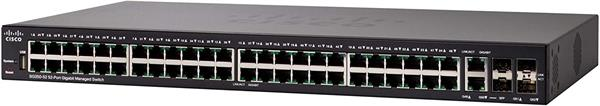 Cisco Cisco SG350-52 52-port Gigabit Managed Switch