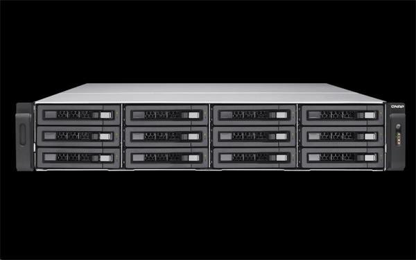 QNAP™ TES-1885U-D1531-16GR 18bays Intel® Xeon® Processor D-1521, 4-core 2.4 GHz 16 GB UDIMM x 4 2U