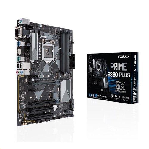 ASUS PRIME B360-PLUS soc.1151 B360 DDR4 ATX M.2 USB3.1 DVI-D HDMI D-Sub