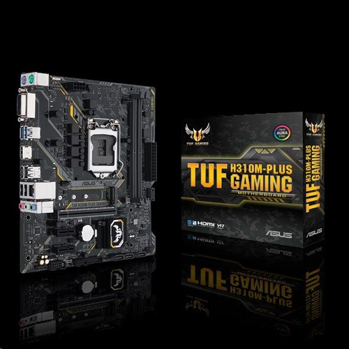 ASUS TUF H310M-PLUS GAMING soc.1151 H310 DDR4 mATX USB3.1 M.2 D-Sub HDMI