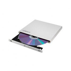 LITEON DVDRW externá UltraSlim USB 2.0, biela