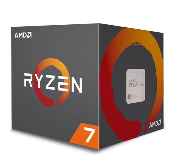 AMD, Ryzen 7 2700X, Processor BOX, soc. AM4, 105W, Wraith Prism chladič