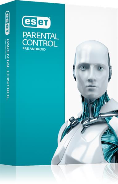 BOX ESET Parental Control pre Android 1 LIC / 1 rok