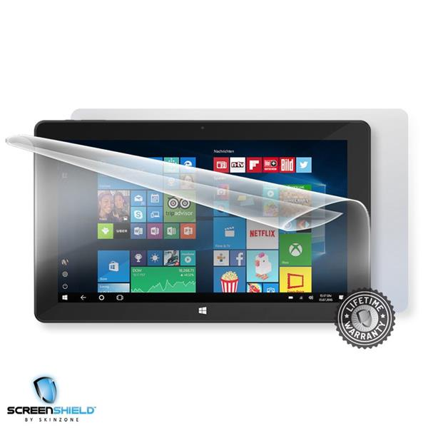 Screenshield TREKSTOR Surftab twin 11.6 - Film for display + body protection