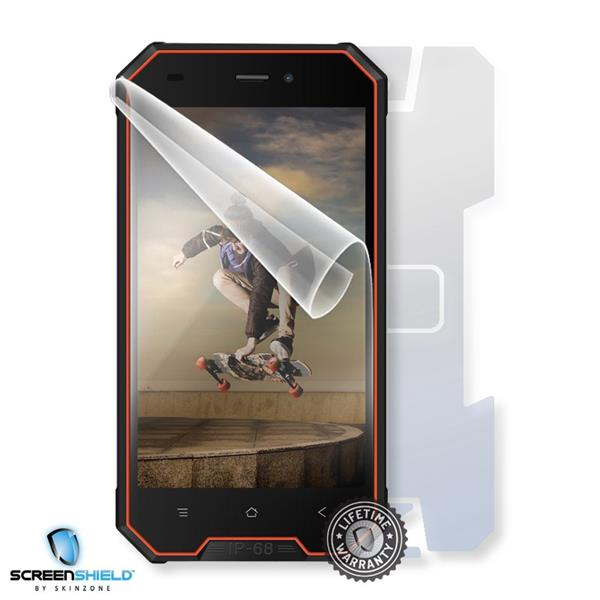 Screenshield IGET Blackview GBV4000 - Film for display + body protection