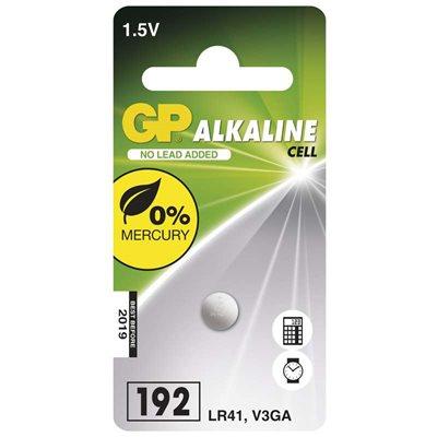 GP alkalická batéria gombíková 192F (LR41, V3GA)
