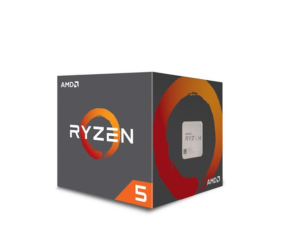 AMD, Ryzen 5 2600, Processor BOX, soc. AM4, 65W, s Wraith Stealth chladičom