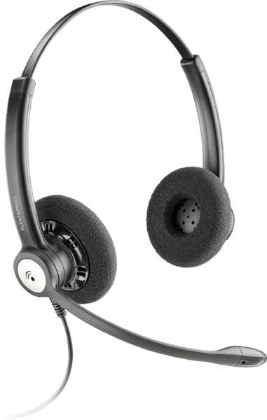 Plantronics ENTERA HW121 N/A náhlavná súprava na obe uši so sponou