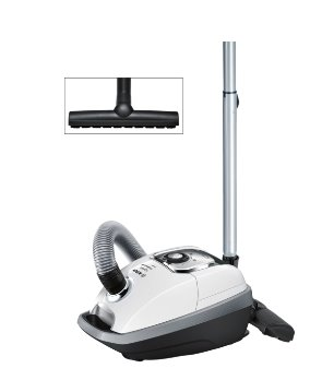 BOSCH_QuatroPower System, SilenceSound System™, PureAir hygienický filter , Biely