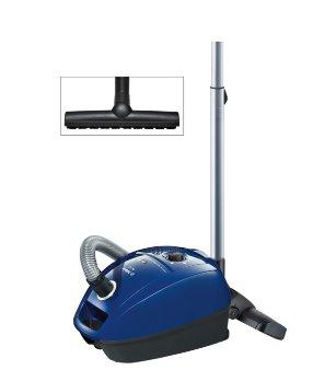 BOSCH_2400 W, PowerProtect System, Hubica na tvrdé podlahy, veľká kapacita vrecka na prach , Hygienický filter