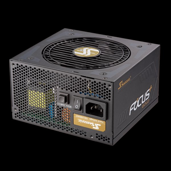 Zdroj 550W, SEASONIC FOCUS Plus 550 Gold