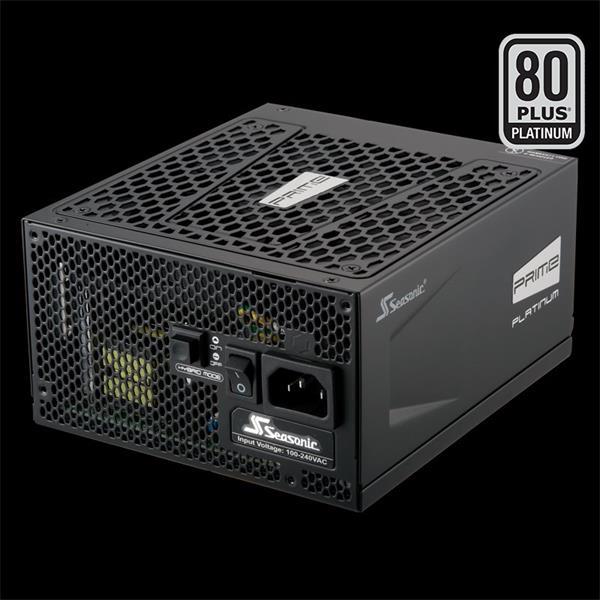 Zdroj 850W, Seasonic PRIME Ultra 850 Platinum (SSR-850PD) 80PLUS