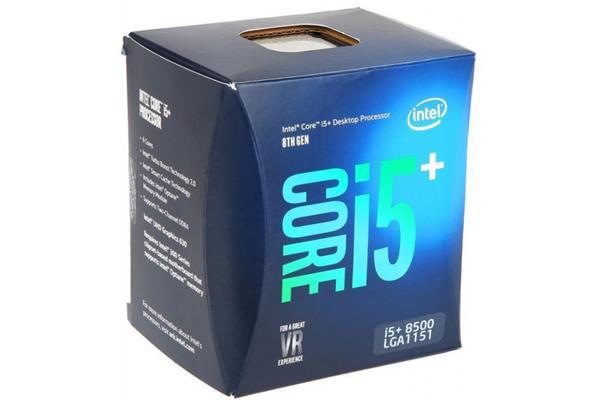 Intel® Core™i5-8500 processor, 3,00GHz,9MB,LGA1151 BOX, HD Graphics 630, + 16GB Optane memory