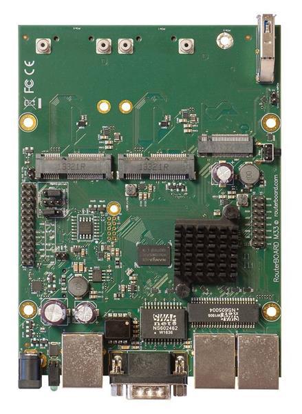 MIKROTIK RouterBOARD M33G + L4 (880MHz, 256MB RAM, 3xGLAN,2x miniPCIe)