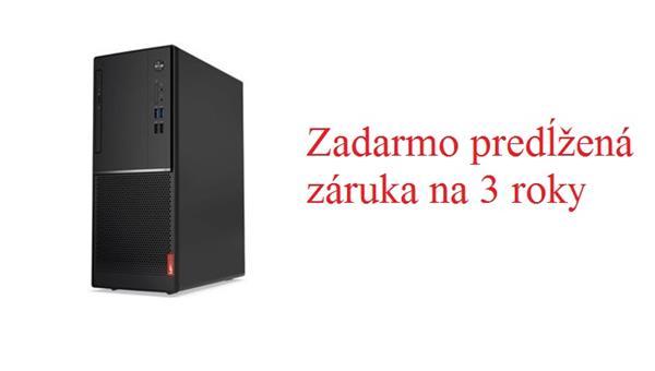 Lenovo TC V520 TWR G4560 3.5GHz UMA 4GB 128GB SSD DVD W10Pro cierny 1yCI