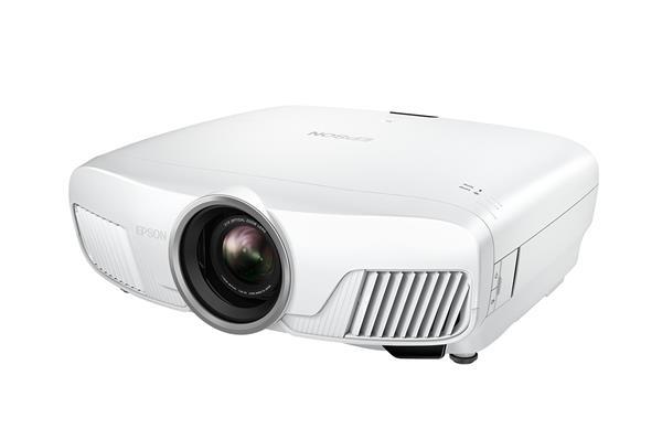 Epson projektor EH-TW7300, 3LCD, 2300ANSI, 160 000:1, Full HD, 3D, 4K, HDMI, LAN + platno