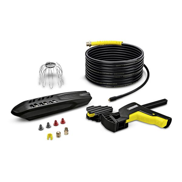 Kärcher PC 20 gutter and pipe cleaning set