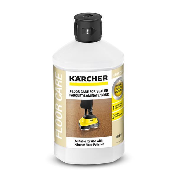 Kärcher Prostriedok na ošetrovanie parkiet/laminátu/korku s ochrannou vrstvou RM 531, 1 L