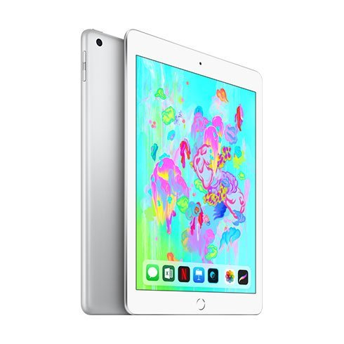 Apple iPad 128GB WiFi + Cellular Silver (2018)