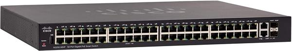 Cisco SG250-50HP 50-Port Gigabit PoE Smart Switch