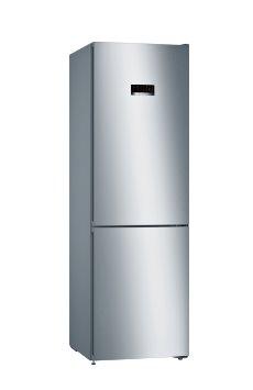 BOSCH_Chladnicka 186 cm, chlad. 237l, mraz. 87l, 173 kWh/365 dní, LCD-displej, NoFrost, VitaFresh, A+++, InoxLook
