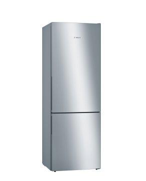 BOSCH_Chladnicka Šírka 70cm, 201cm, chlad. 302l, mraz. 111l, 190 kWh/365 dní,LED-displej (2 chladiace okruhy),A+++,nerez