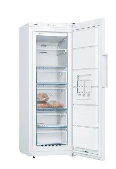 BOSCH_Mraznicka 161 cm, jednodverová (šuplíková) NoFrost,195 l, 211 kWh/365 ní - A++,LED-ukazovateľ,autoMrazenie biela