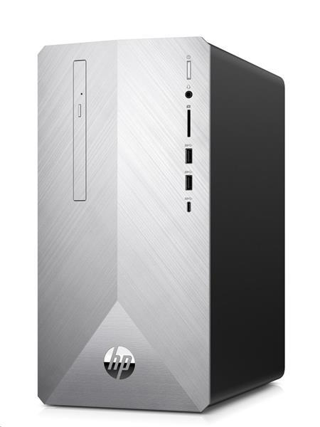 HP Pavilion 595-p0013nc, R5-2600, RX580/8GB, 16GB, SSD 256GB+1TB, DVDRW, W10, 2Y, WiFi/BT