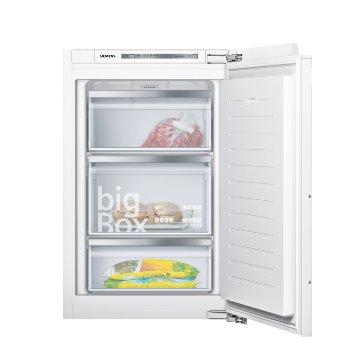 SIEMENS_Mraznicka A+++, ploché pánty softClose, vstavaná zásuvková mraznička 95 l, 104 kWh/365 dní