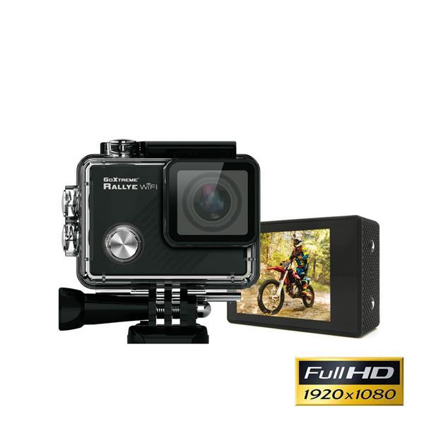 GoXtreme Rallye WiFi športová akčná kamera Full HD, 1.088p@30fps, 1MP sensor, 2.0