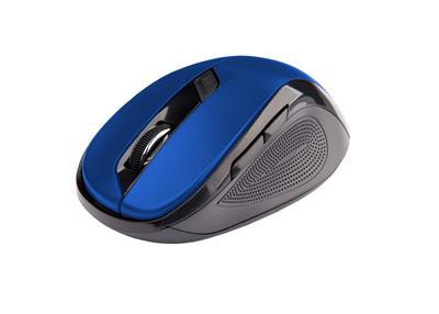 C-Tech myš WLM-02 čierno-modrá, bezdrôtová, 1600DPI, USB. Nano receiver, wireless